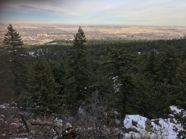 View from Boulder Mountain Park hike