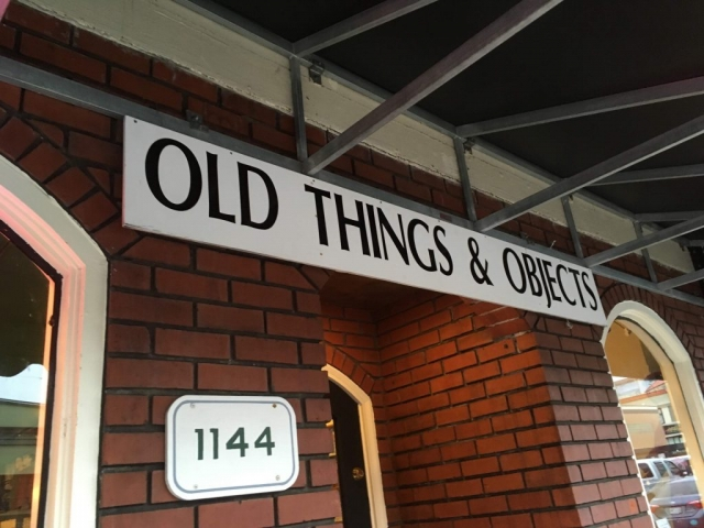 Old things & objects store