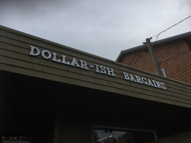 Store called dollar-ish bargains