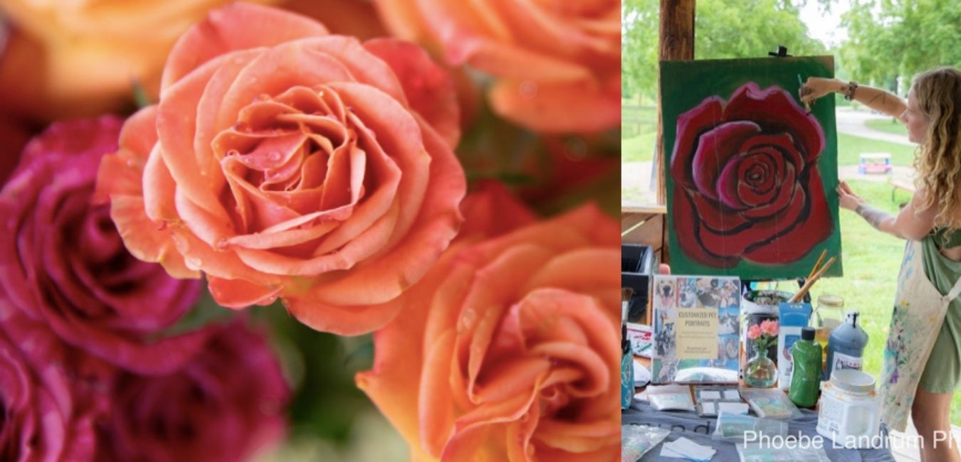 Painting the Sacred Rose Workshop